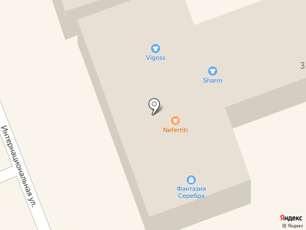 Нефертити на карте Ессентуков