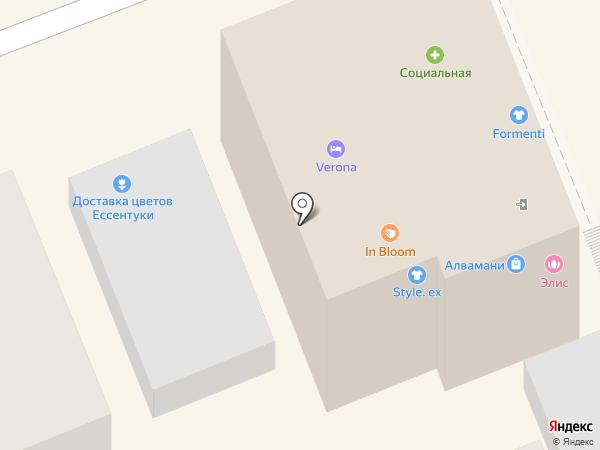 Verona на карте Ессентуков