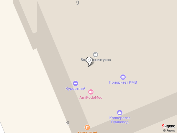 Престиж на карте Ессентуков