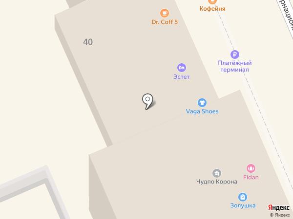 Петербургское пальто на карте Ессентуков