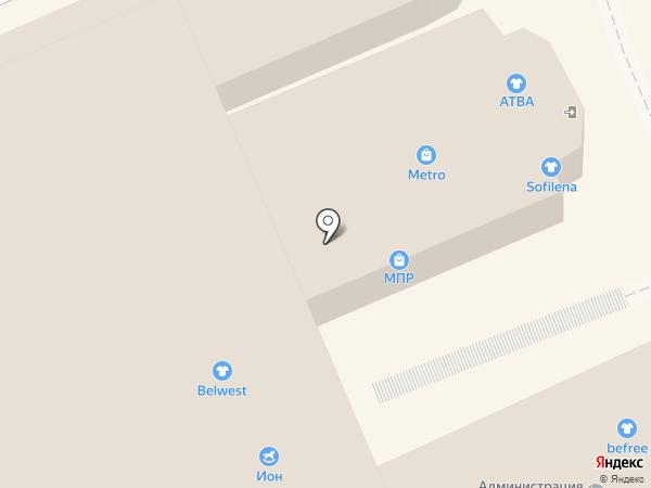 BELWEST на карте Ессентуков