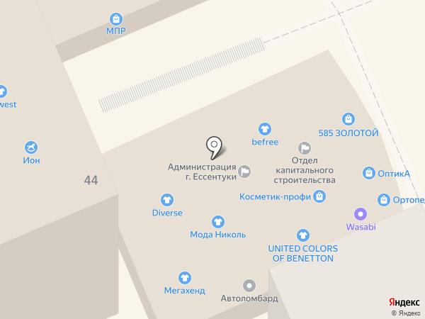 Waggon Para на карте Ессентуков