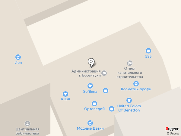 BEFREE на карте Ессентуков