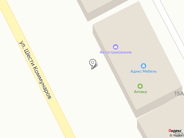 Аптека на карте Ессентукской