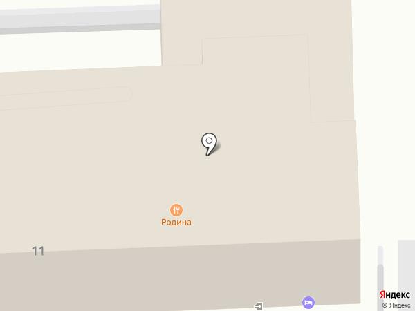 Родина на карте Ессентуков