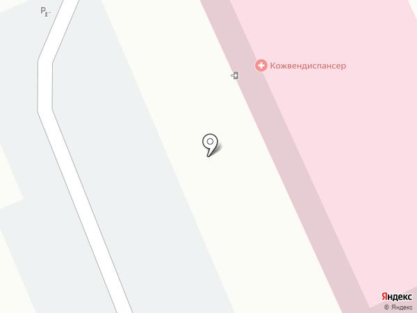 Краевой клинический кожно-венерологический диспансер на карте Ессентуков
