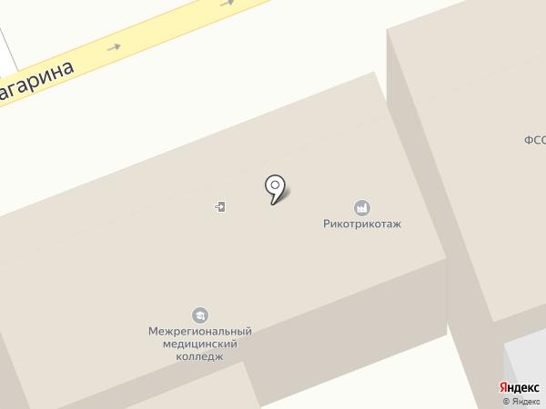 Торгово-производственное предприятие на карте Ессентуков
