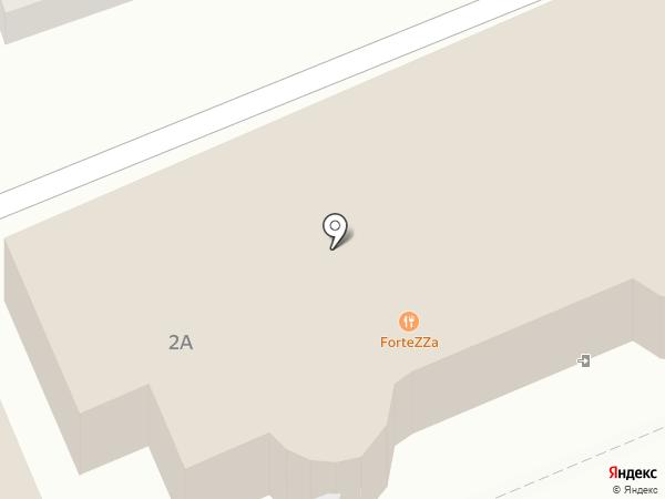 Крепость на карте Ессентуков