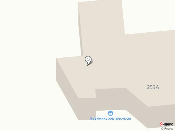 Кавминкурортресурсы на карте Ессентуков