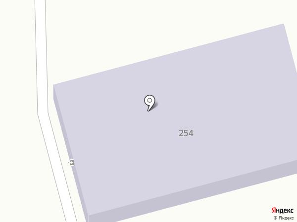 Детский сад №12, Ручеёк на карте Ессентуков