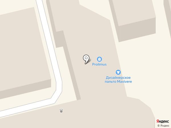 Магазин верхней женской одежды на карте Ессентуков