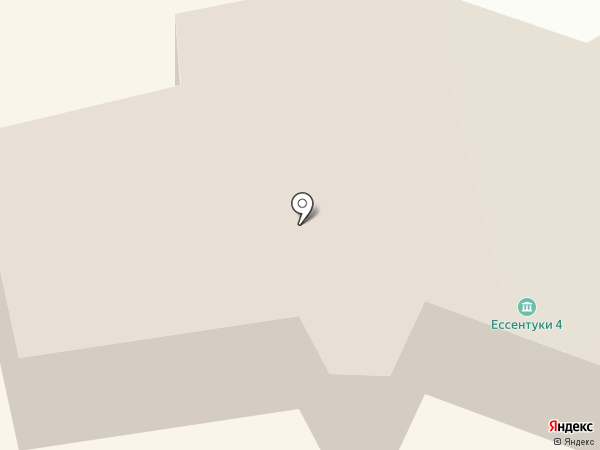 Минеральный источник № 4/33 на карте Ессентуков