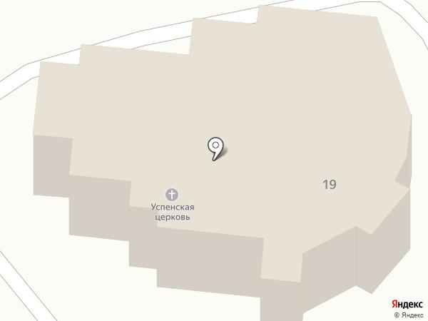 Храм Успения Пресвятой Богородицы на карте Ессентукской