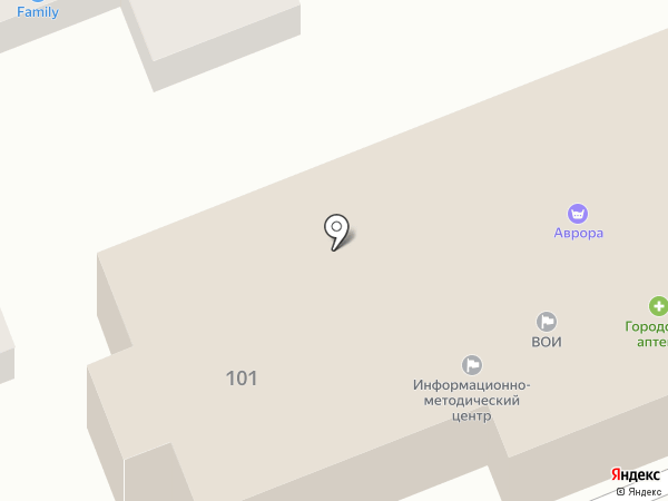 Акварель на карте Ессентукской