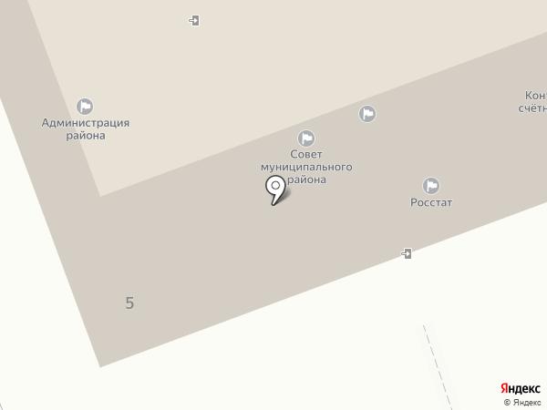 Администрация Предгорного муниципального района на карте Ессентукской