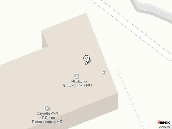 Инспекция Федеральной налоговой службы России по Ставропольскому краю в станице Ессентукской на карте Ессентукской