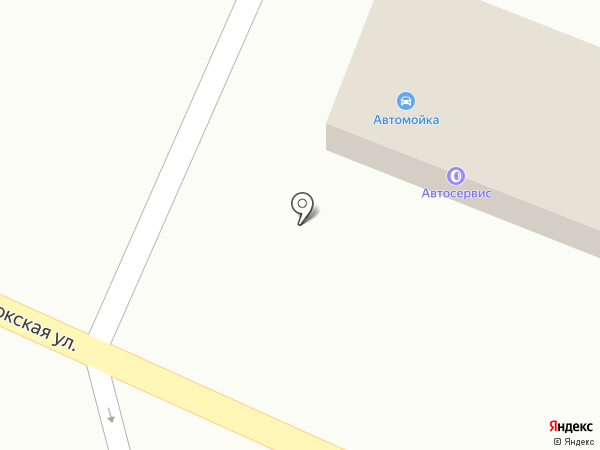 Магазин автозапчастей на карте Ессентукской