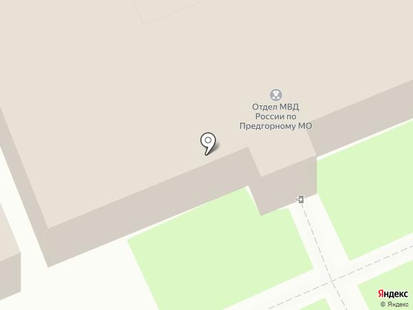 Отдел МВД России по Предгорному району на карте Ессентукской