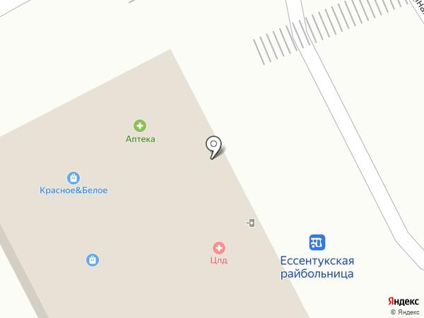 Магазин птицы и полуфабрикатов на карте Ессентукской
