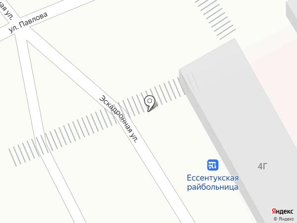 Котофей на карте Ессентукской
