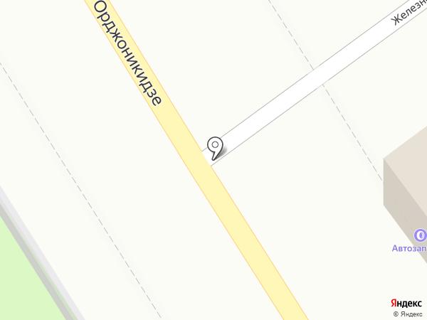 Доррис на карте Ессентуков
