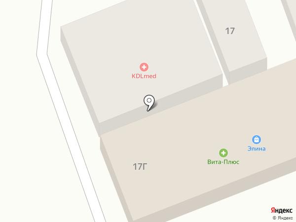 Вита-Плюс на карте Ессентукской