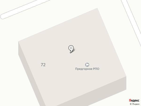 Предгорное районное потребительское общество на карте Ессентукской