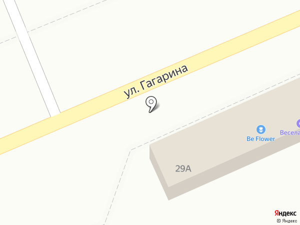 Магазин воздушных шаров на карте Ессентукской