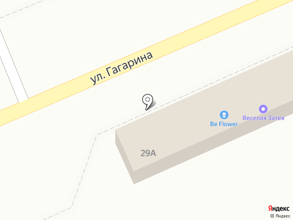 Шарики на карте Ессентукской