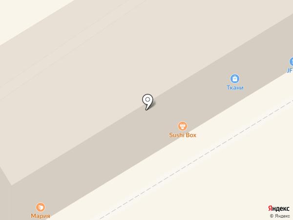 Магазин тканей на карте Ессентуков