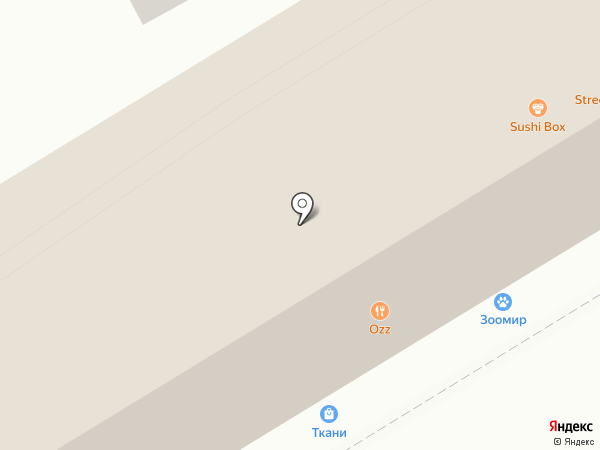 Зоомир на карте Ессентуков