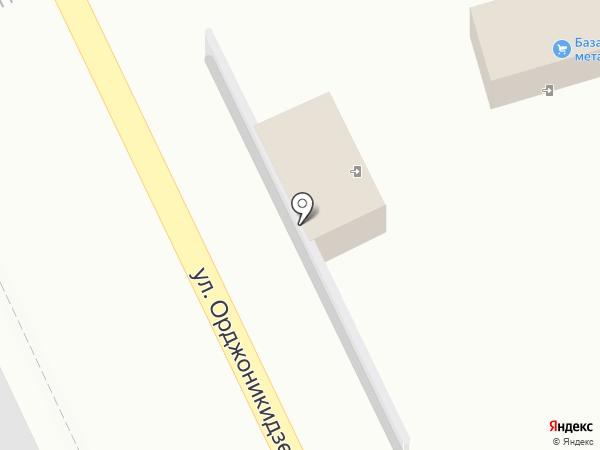 База металлопроката на карте Ессентуков