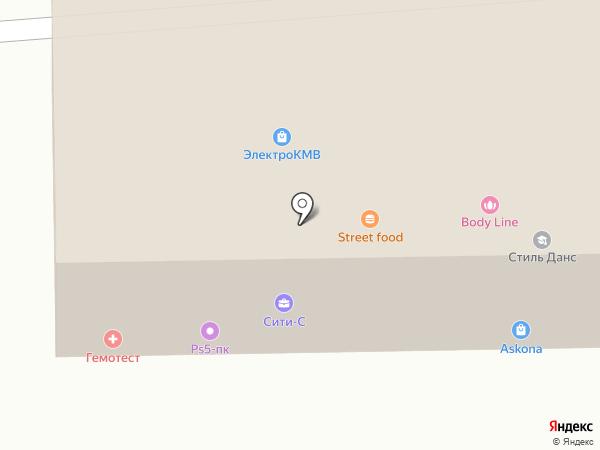 Профмед на карте Ессентуков