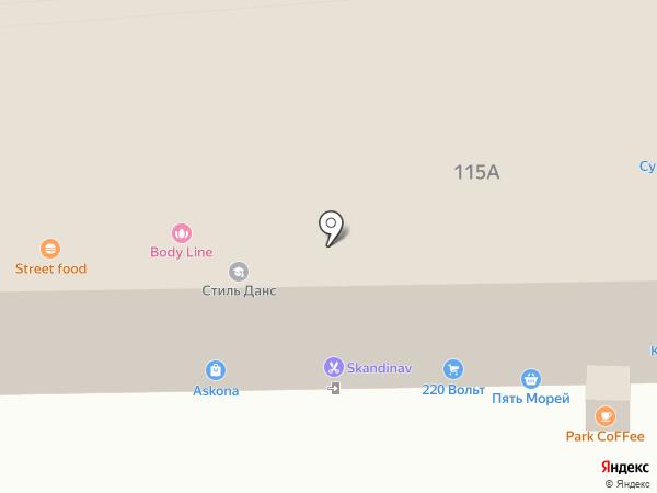 Магазин люстр на карте Ессентуков