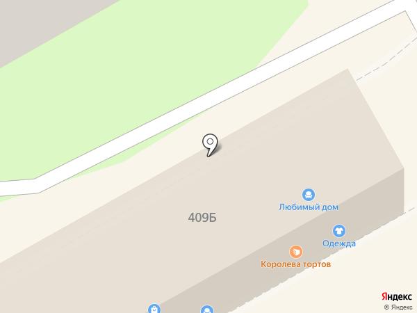 Роза Красная на карте Ессентуков