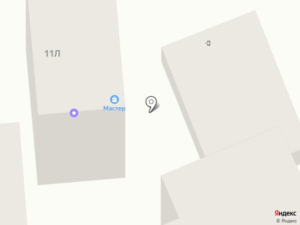 Мастер на карте Ессентукской