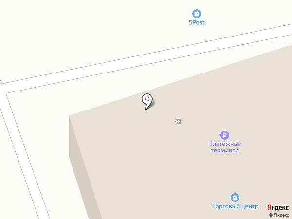 Нега на карте Ессентукской