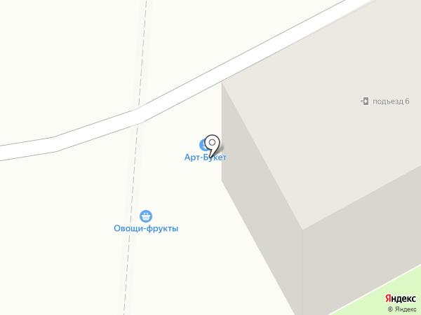 Дубки на карте Ессентуков