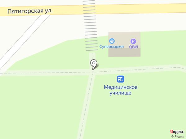 Продуктовый магазин на карте Ессентуков