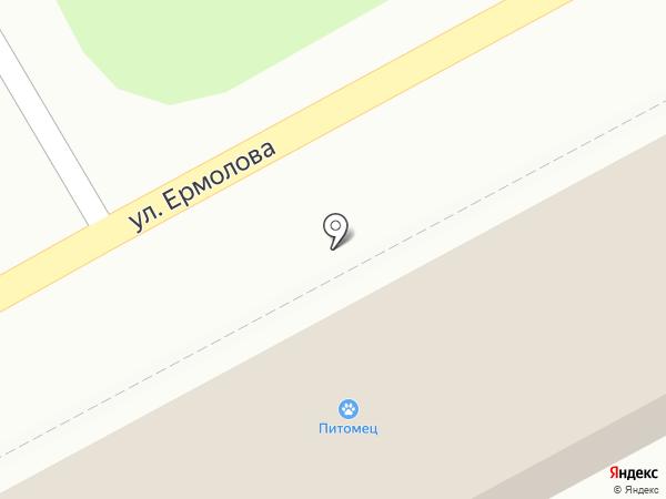 Питомец на карте Ессентуков