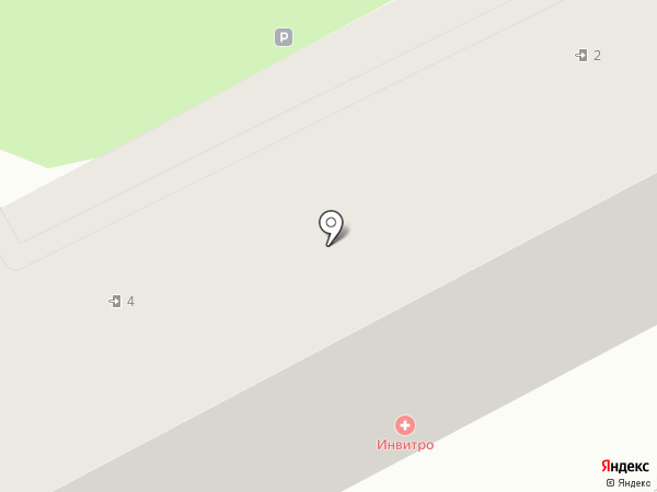 ИНВИТРО на карте Ессентуков