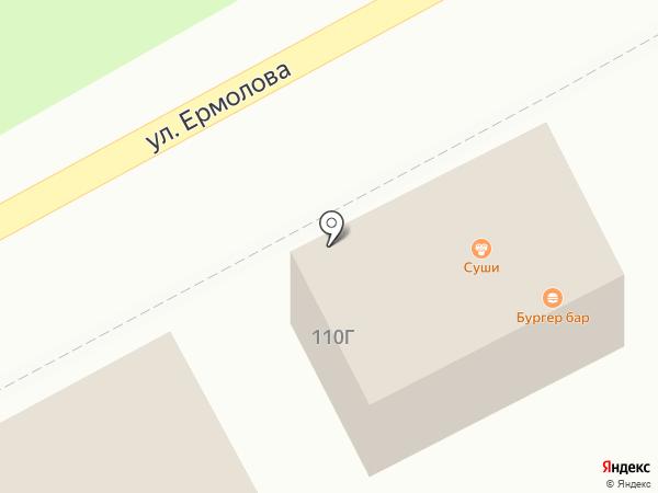 Кубики на карте Ессентуков