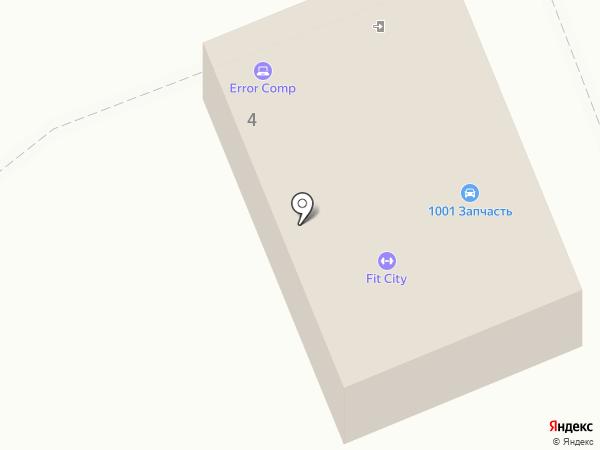 1001 запчасть на карте Ессентуков