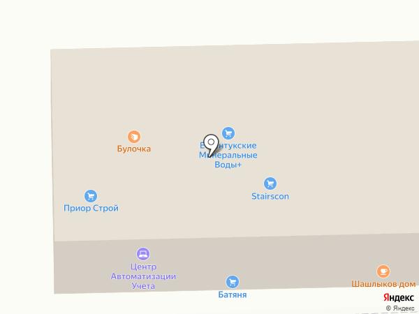 Амвикс на карте Ессентуков