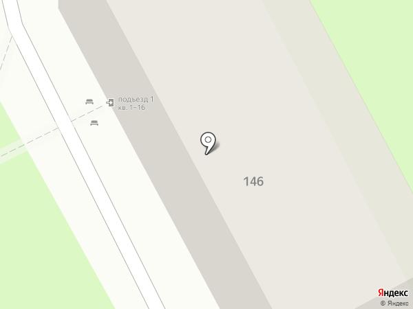Ветеран на карте Ессентуков