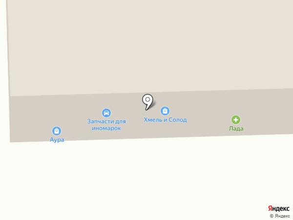 Фаворит на карте Ессентуков