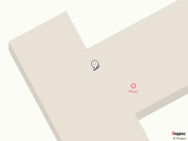 Ессентукская городская больница на карте Ессентуков