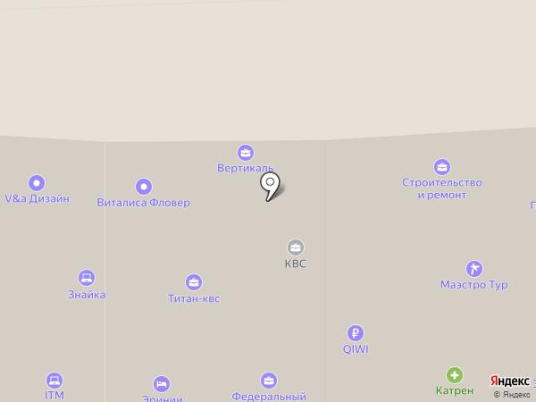Строительство и ремонт на карте Ессентуков