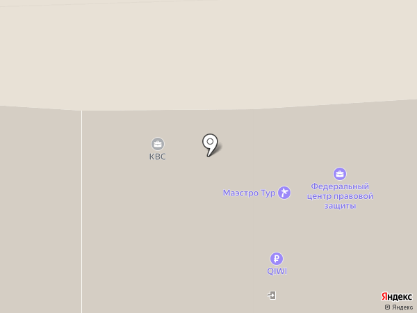 Олимп-КВС на карте Ессентуков