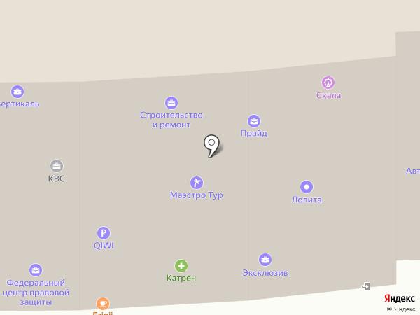 Адвокатский кабинет Котовский В.Г. на карте Ессентуков